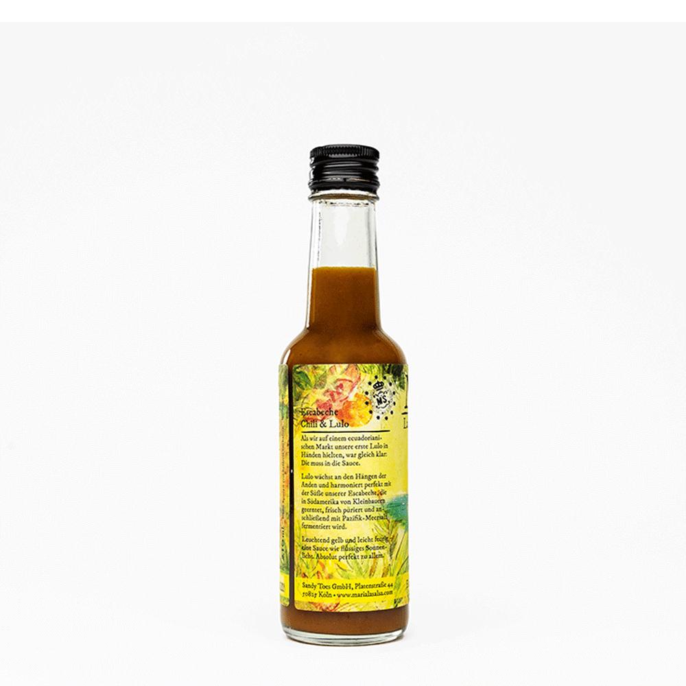 Escabeche Chili & Lulo, Chilisauce mild