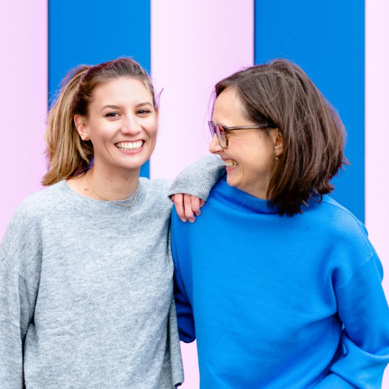 Anna Kukla und Melanie Haizmann