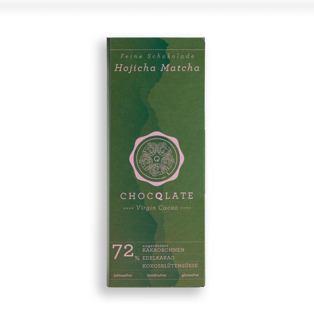 Virgin Cacao Schokolade Matcha BIO