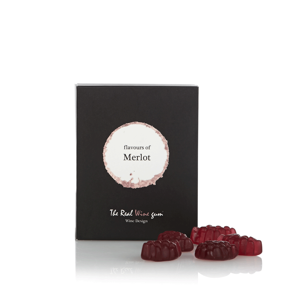 The Real WINE Gum Merlot