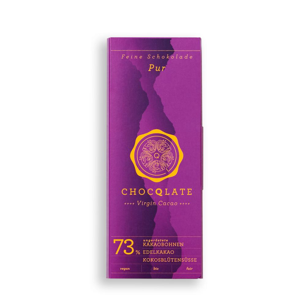Virgin Cacao Schokolade Pur BIO