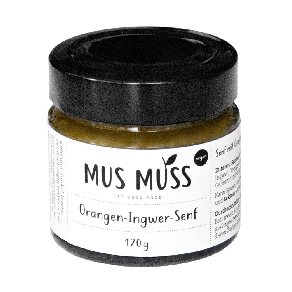 Orangen-Ingwer-Senf Vegan
