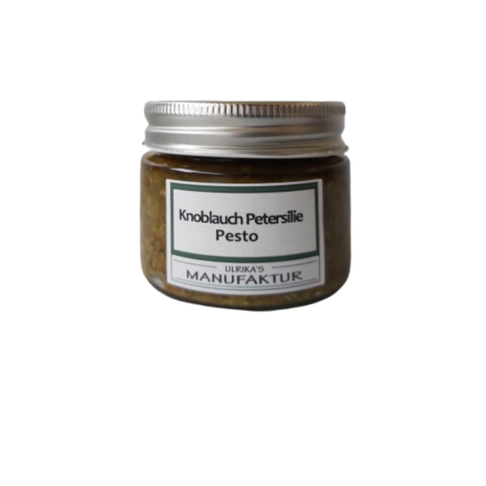 Knoblauch Petersilie Pesto