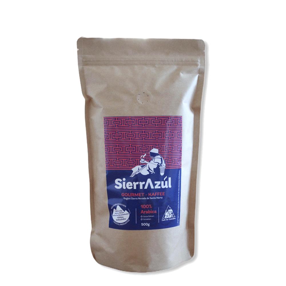 Café Sierrazul ungemahlen