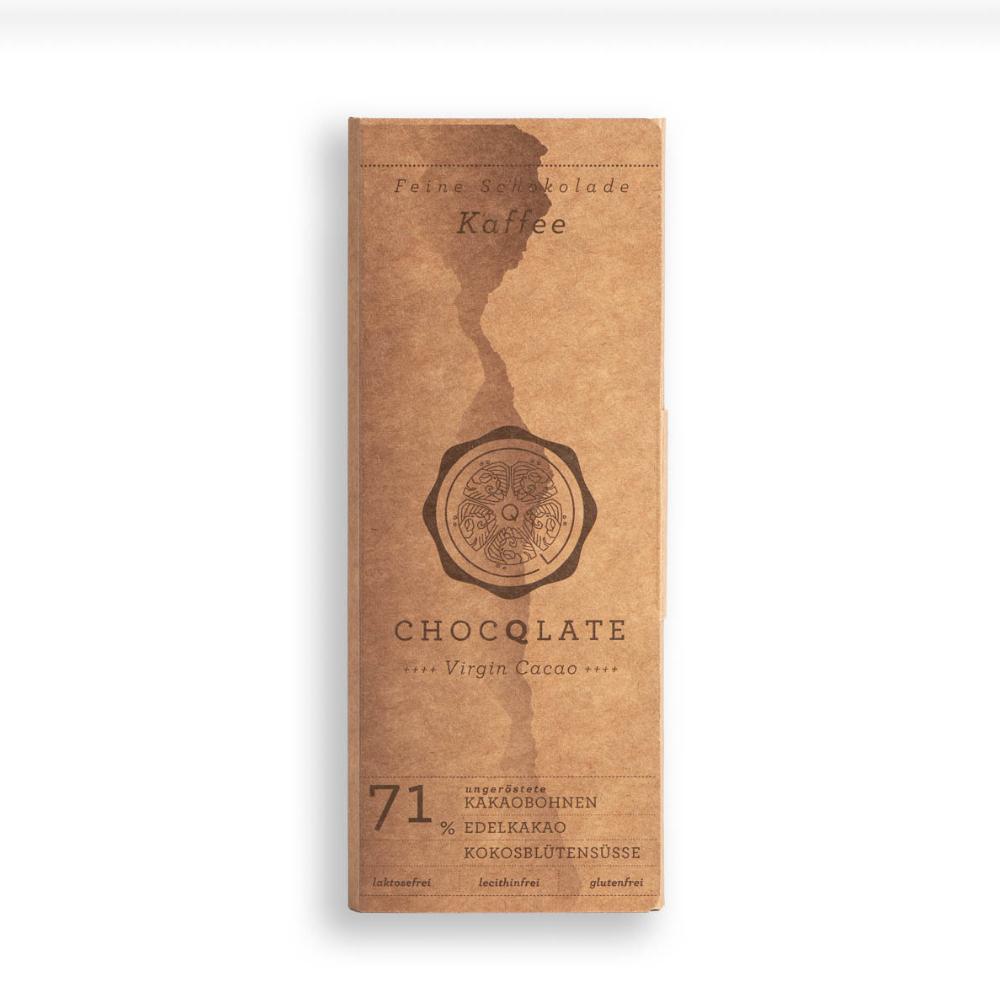 Virgin Cacao Schokolade Kaffee BIO