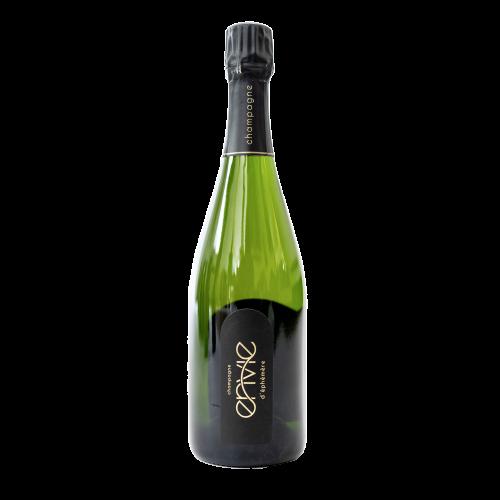en vie d'éphémère Champagne - cuvée début