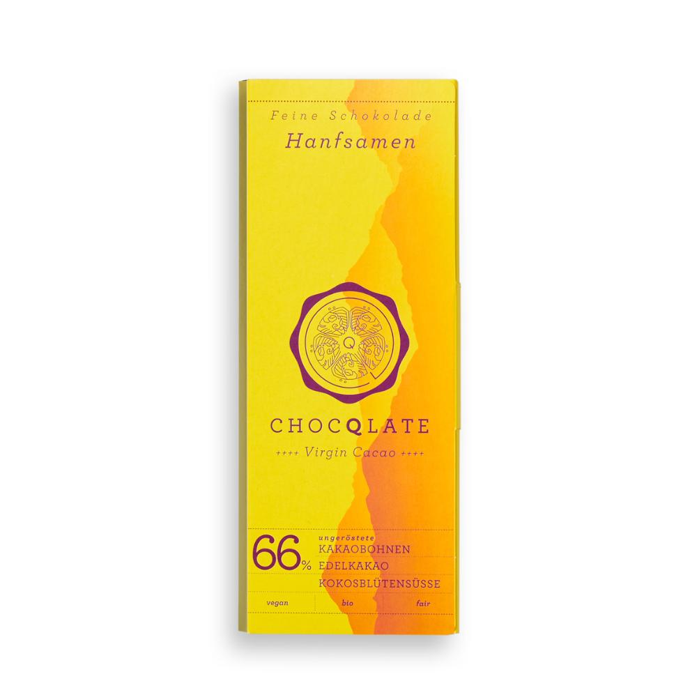 Virgin Cacao Schokolade Hanfsamen BIO