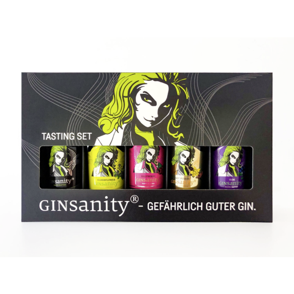 GINSANITY Tasting-Set 5 x 50 ml