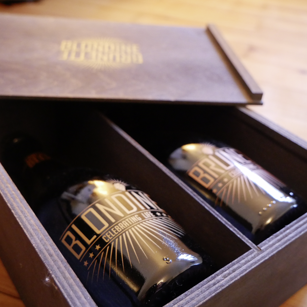Blondine & Brunette Crafted Bier in edler Geschenkbox