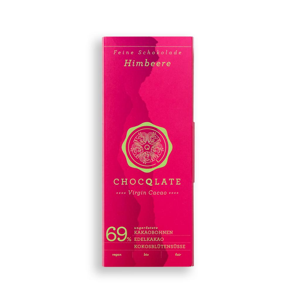 Virgin Cacao Schokolade Himbeere BIO