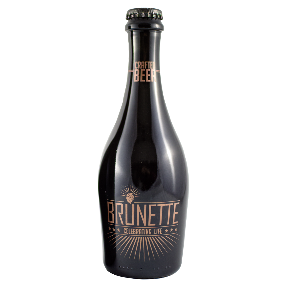 Brunette Crafted Bier in der edlen Magnumflasche