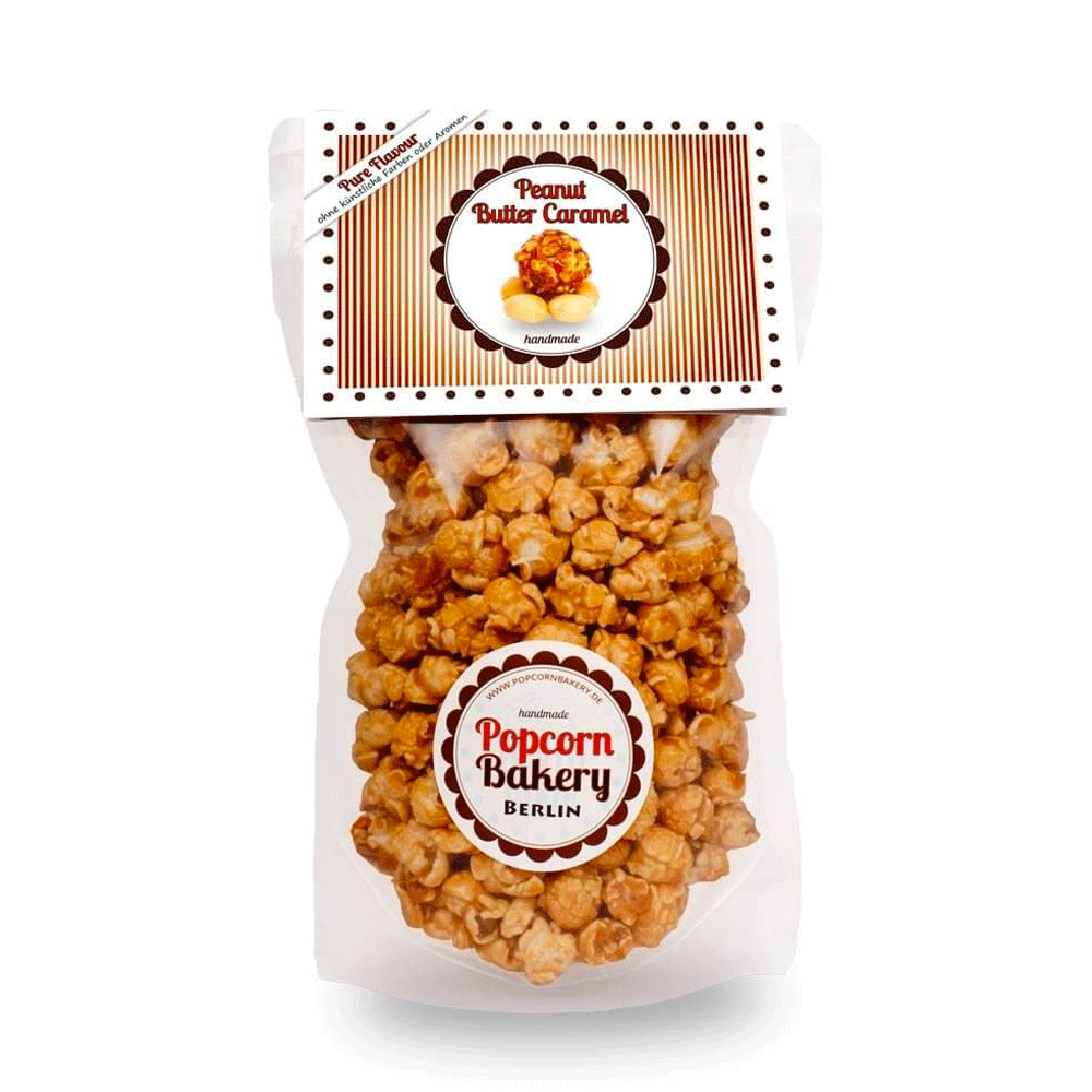 Popcorn Peanut Butter Caramel