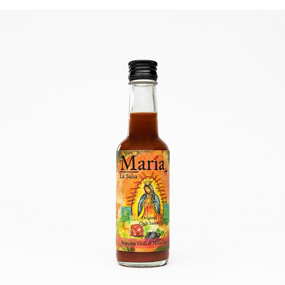 Scorpion Chili & Mora, Chilisauce hot